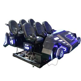 Customized Color Virtual Cinema Machine 4D 7D 12D Cinema With 6/12/24 Seat