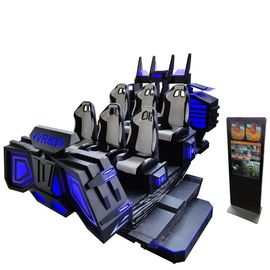 Real Feeling Virtual Reality Cinema Theaters , 9D VR Simulator Cinema Game Machine