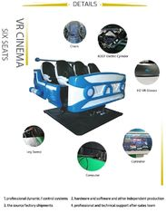 380V 9D Virtual Reality Cinema , 9D Cinema Simulator With Games Immersive