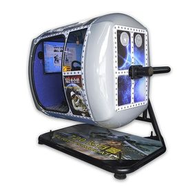Real Experience Rotation VR Games Flight Simulator 360 Vision Chair 2100*2400*2100mm