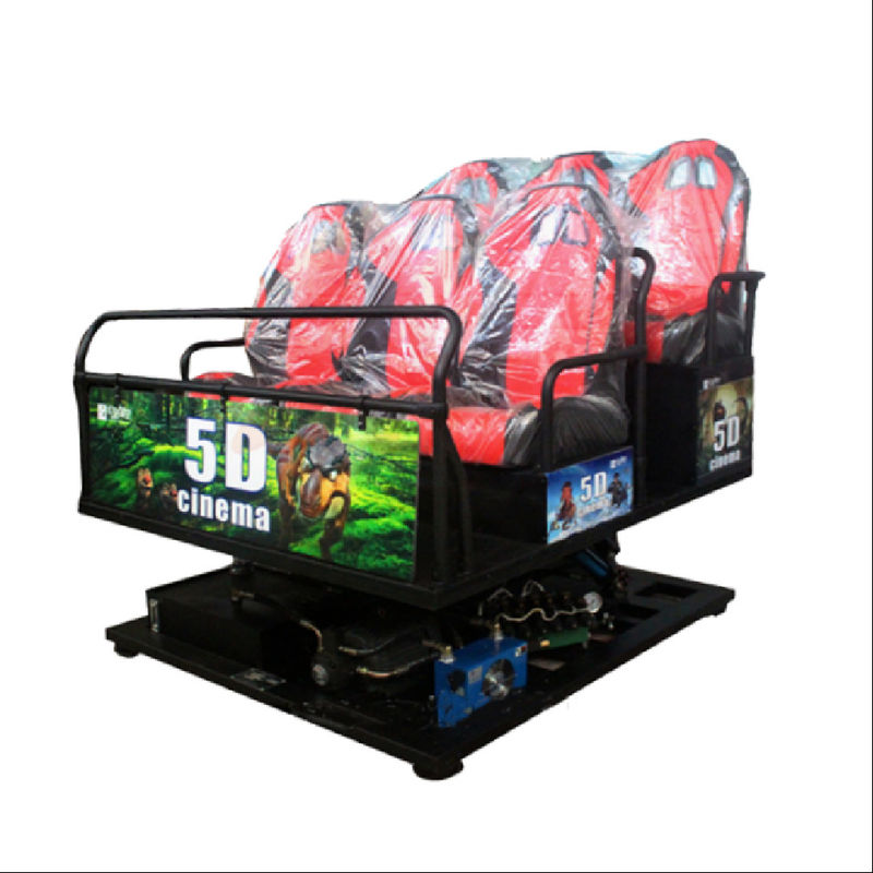 5D 7D 9D 12D Virtual Reality Movie 6 Dof Motion VR Simulator 12 Seats